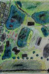 Original TSI Map as Aerial View copyright 1998 by Michael D. Smith