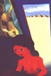 Triptych #1 (Red Girl at Table) copyright 1989 by Michael D. Smith