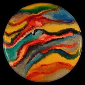 Venusian Eclipse Sea Marble copyright 2003 by Michael D. Smith
