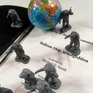 Balloon Ship Armageddon Spacemen and Earth copyright 2018 by Michael D. Smith